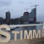 """""""Wann wird hier Stimme sein?"""", Elbphilharmonie Hamburg"""