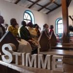 Chorprobe in Lutindi, Tansania