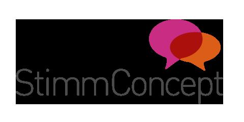 StimmConcept | Stimmbildung, Stimmtraining, Sprechtraining, Gesangsunterricht in Münster Retina Logo