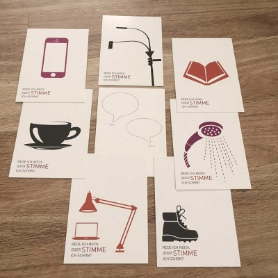 Do-it-cards StimmConcept - visuelle Erinnerung